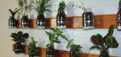 Superieur DYI: Build A Mason Jar Herb Garden
