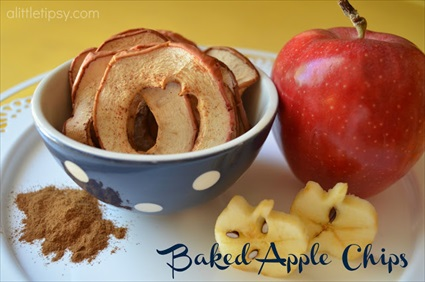 Homemade Baked Apple Chips Recipe