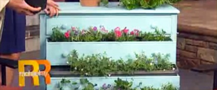 DIY Recycled Garden Dresser