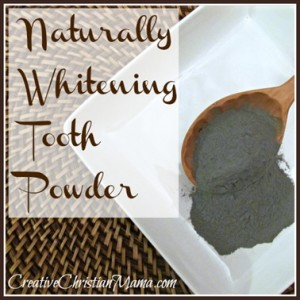 Homemade DIY Cinnamon & Clove Tooth Powder