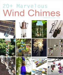 20+ Marvelous Homemade Wind Chimes