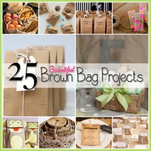 25 Beautiful Brown Paper Bag Projects