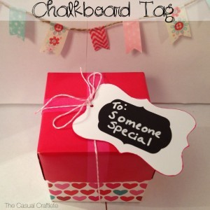 Homemade Chalkboard Gift Tags