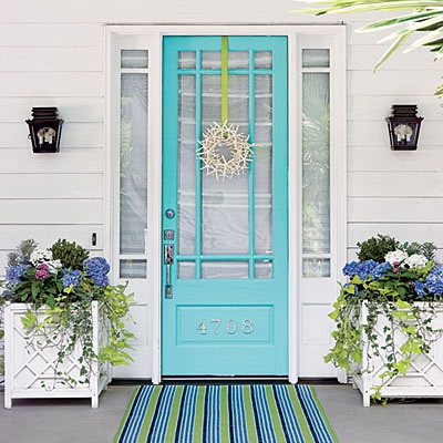 Inspiration for Front Doors & Entry Areas