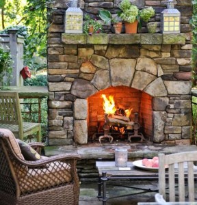 29 Outdoor Fireplace Ideas