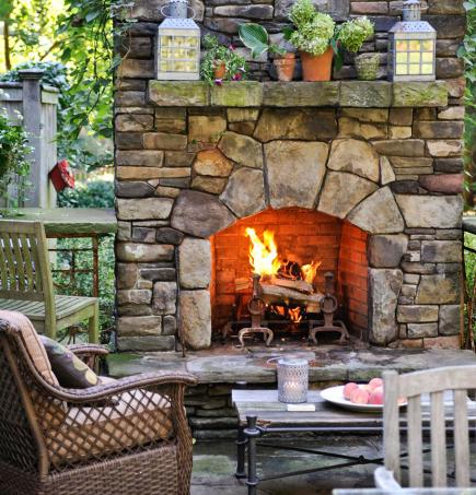 29 Outdoor Fireplace Ideas Diy Home Sweet Home