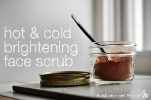 Hot & Cold Brightening Facial Scrub