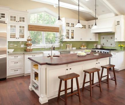 12 before and after kitchen makeovers diy home sweet home for Before after kitchen makeovers