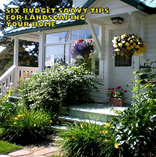 6 budget savvy tips for landscaping your home diy home Savvy home and garden