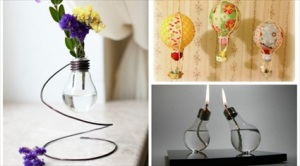 24 Creative DIY Light Bulbs Ideas