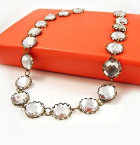 DIY: J.Crew Inspired Crystal Necklace
