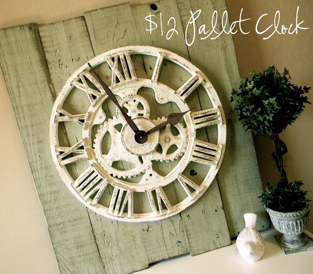 How to Make a Pallet Clock