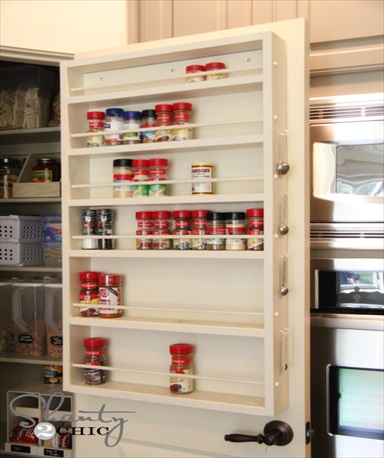 How to Mae a Spice Rack – Free Plans!