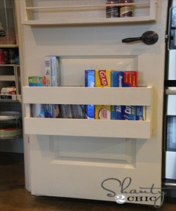 Kitchen Organization – DIY Foil & More Organizer!