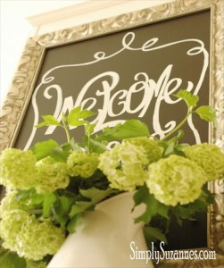 How to Make a DIY Framed Chalkboard