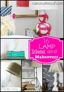 16 DIY Lamp Makeovers and Ideas