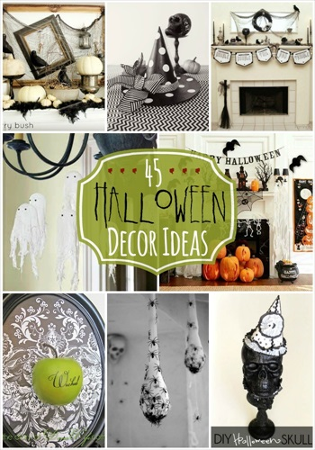 45 Halloween Decor Ideas
