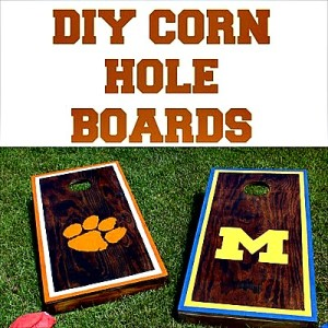 How to Make Homemade Cornhole Boards