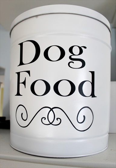 How to Make a DIY Dog Food Container