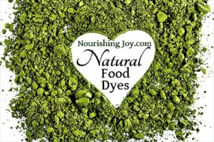 How to Make Natural Food Dyes