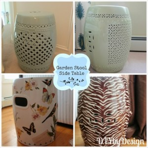 Using Garden Stools in Home Decor