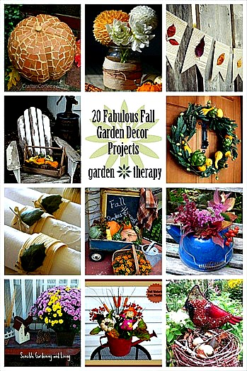 20 Fabulous Fall Decor Projects from the Garden