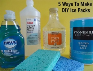 5 Ways to Make Homemade Ice Packs