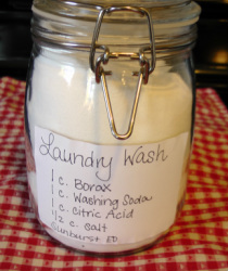 DIY Laundry Detergent Recipe