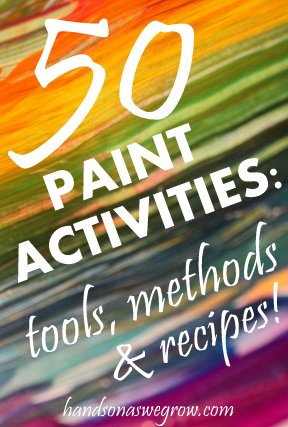 50 Painting Activities & Projects for Kids