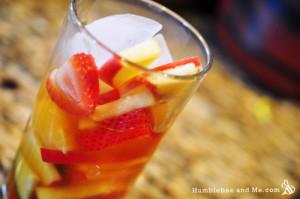 Homemade Pimms Lemonade Fruit Cocktail Recipe