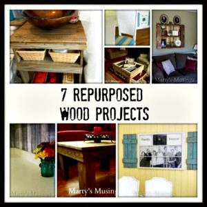 7 Repurposed Wood Projects