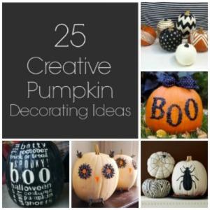 25 creative pumpkin ideas