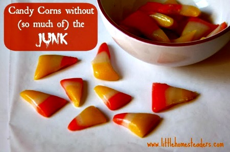 Homemade Candy Corns with *Less* of the Junk