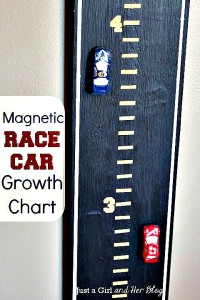 How to Make a Magnetic Race Car Growth Chart