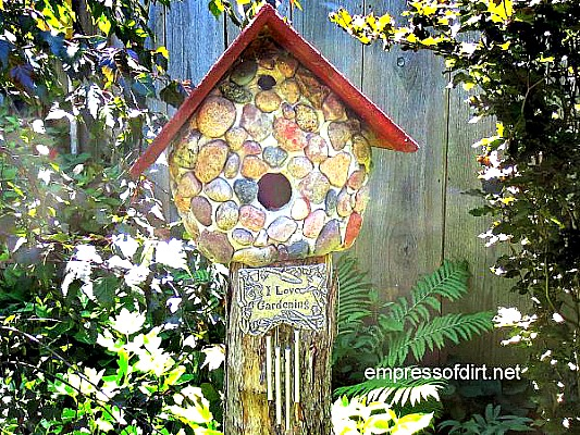 How To Make A Stone Birdhouse