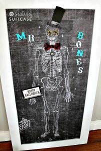How to Make Mr Bones – a Magnetic Skeleton for Kids