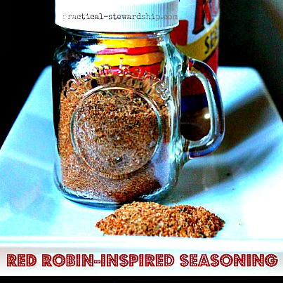 Homemade Red Robin Seasoning Recipe (Copycat)