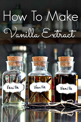 How To Make Homemade Vanilla Bean Extract