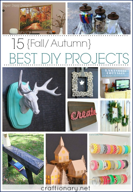 15 Best DIY Projects for Autumn