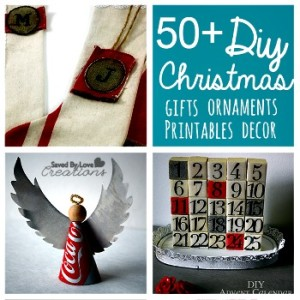 Over 50 of the Best DIY Christmas Decor and Gifts You Can Make