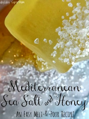 How to Make Mediterranean Sea Salt & Honey Soap