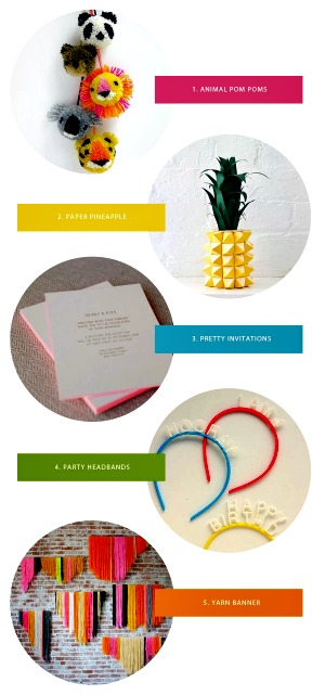 Favorite Party Ideas ~ Fun DIY Projects