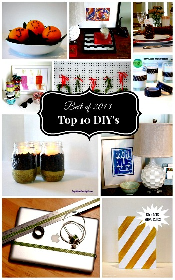 Top 10 DIY Projects~ the Best of 2013