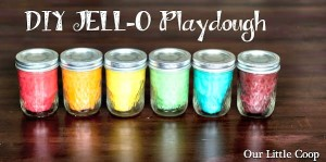How to Make DIY JELL-O PlayDough
