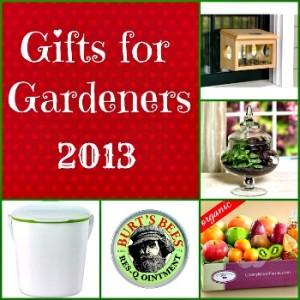 Gardener's Gift Guide for Christmas – 2013
