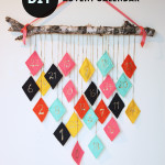 DIY Reusable Hanging Felt Fabric Advent Calendar
