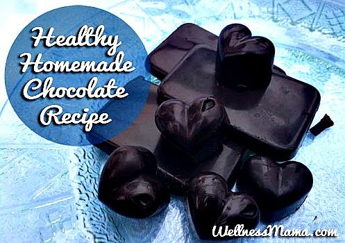 DIY: Healthy Homemade Chocolate Recipe