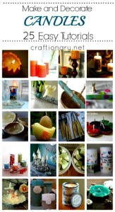 Making Candles (25 DIY Candle Making & Decorating Tutorials)