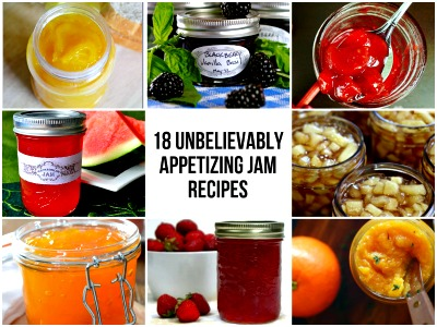 18 Unbelievably Appetizing Jam Recipes
