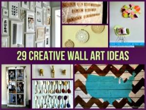 29 Creative Wall Art Ideas